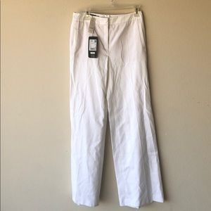 Escada white womens pants tags on it New!!
